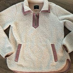 Abercrombie & Fitch Essential A&F Sherpa Fleece